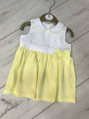 White and Lemon Dress